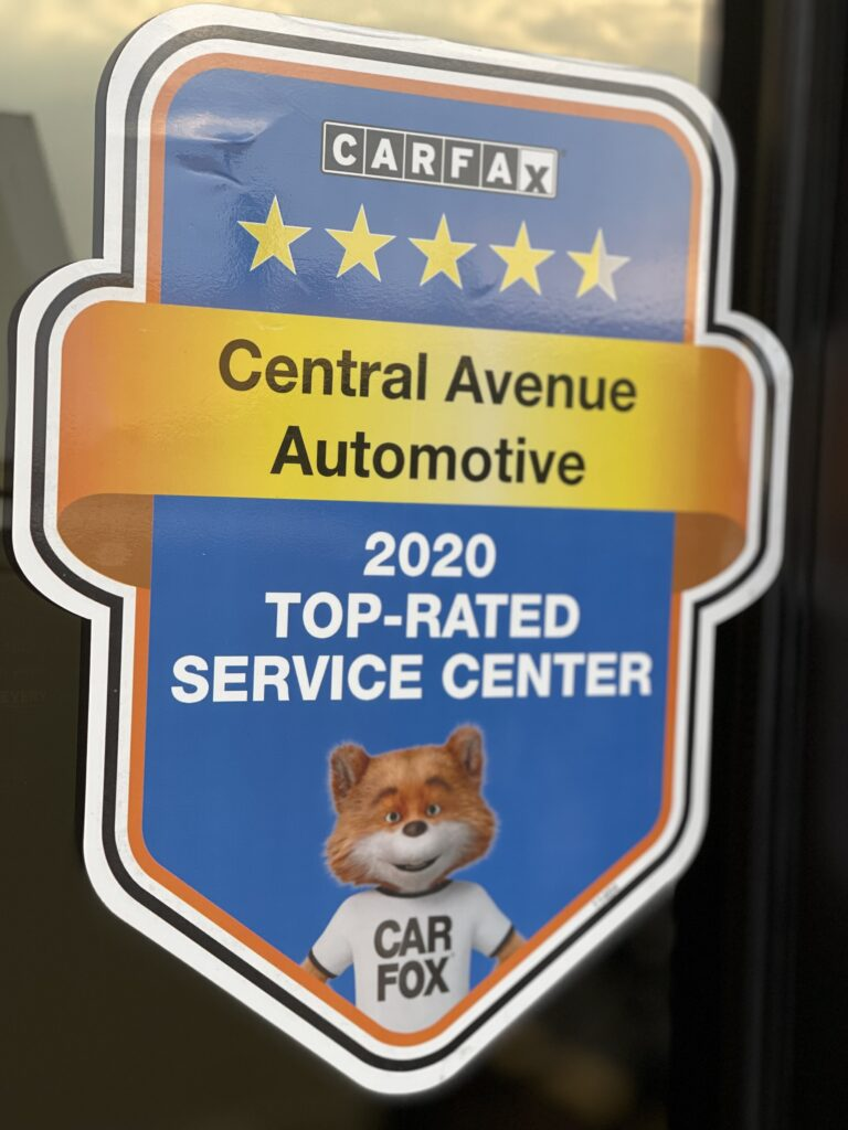 Carfax 2020 Top-Rated Service Center